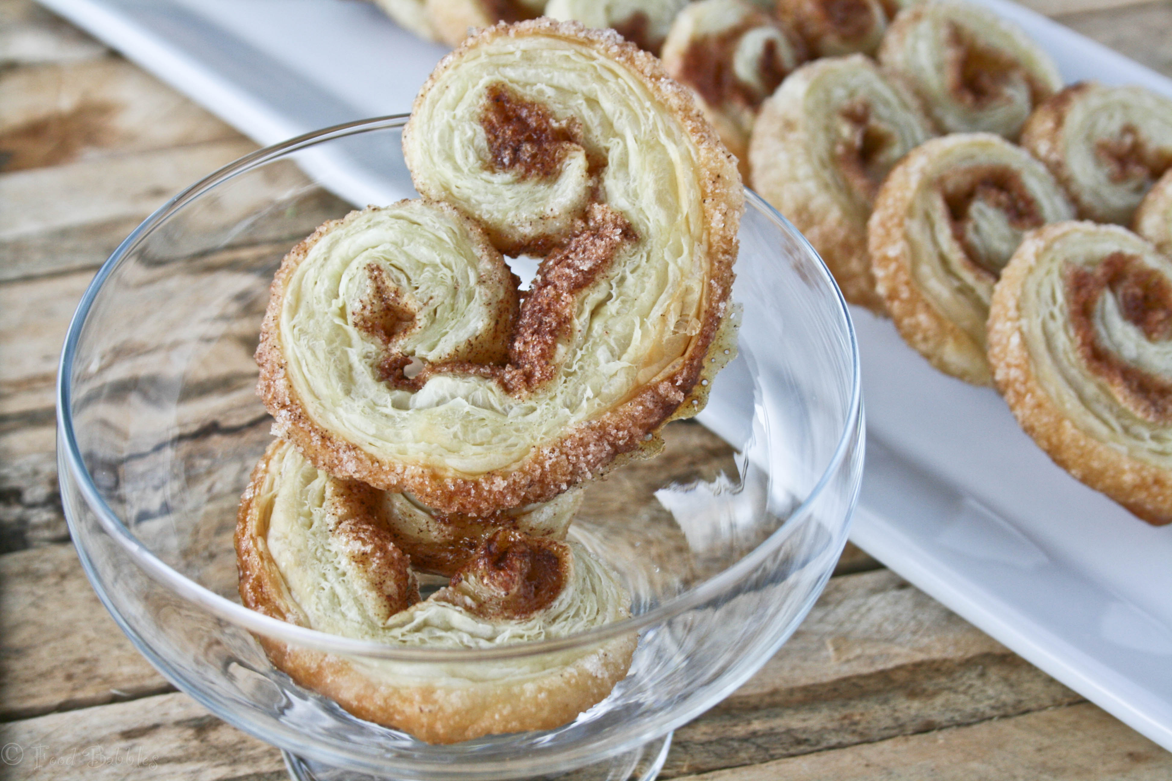 Post image for Palmiers, Elephant Ears or Angel Wing Cookies
