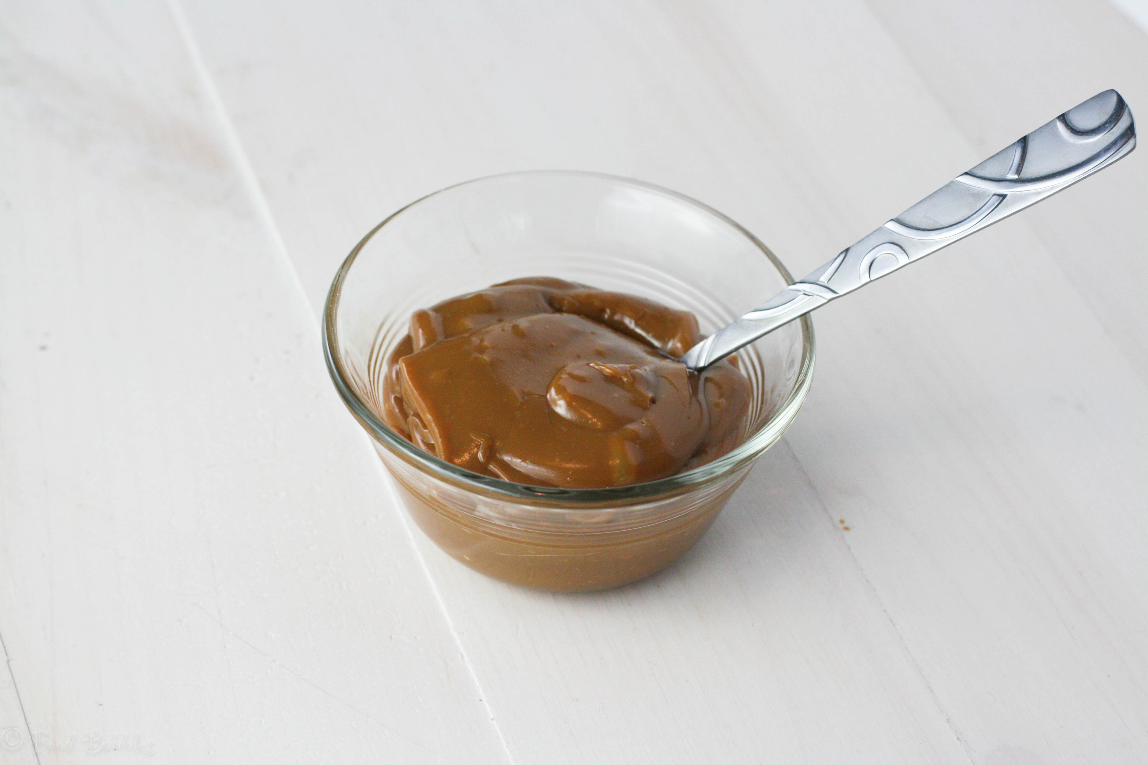how to turn condensed milk into caramel thermomix